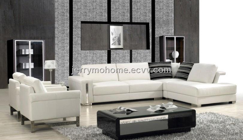 Modern Corner Leather Sofa