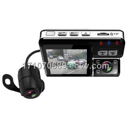 OR-X8 HD720 CAR DVRs with extra camera Dual lens