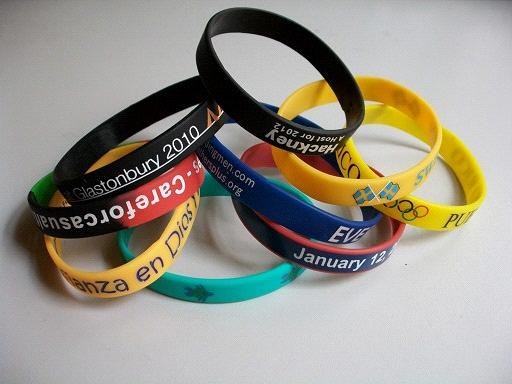 Rubber Bracelets Silicone Wristbands Custom And