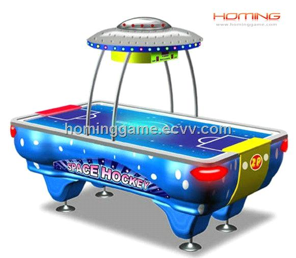 Space Air Hockey table game machine(HomingGame-Com-042)