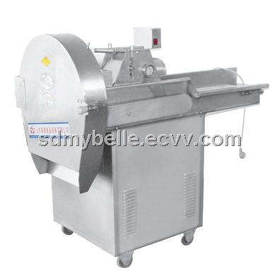 The stainless steel automatical CHD digital vegetable cutter