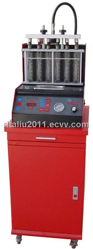 WL-66 fuel injector tester and cleaner machine, return oil by hand