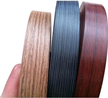 Wood Grain Pvc Edge Banding Tape From China Manufacturer