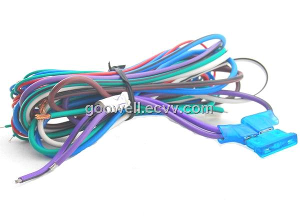 Engine wire harness motorcycle car audio