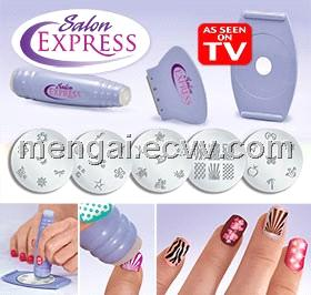 Salon Express Nail Art Stamping Kit Purchasing Souring Agent Ecvv