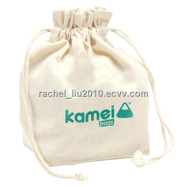 Cotton Bag Canvas Drawstring Gift