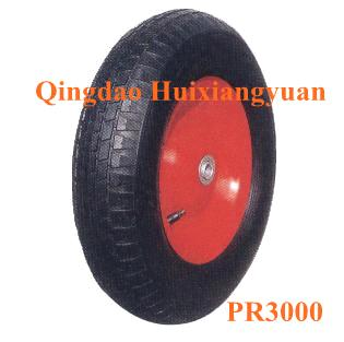 16inch Pneumatic Rubber Wheel-PR3000