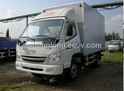 China t-King 2 Ton Diesel Container Truck