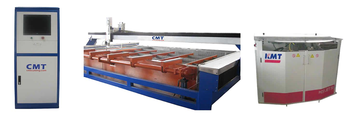 CMT Easy Loading Water Jet Cutting Machine