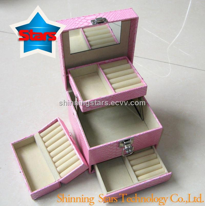 Christmas Girls Jewelry Box Wth Pink Color purchasing, souring ...