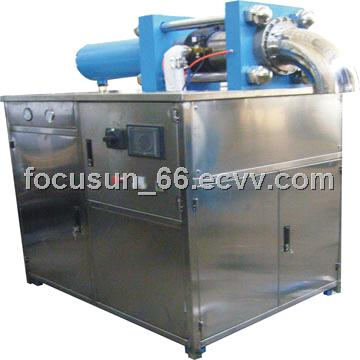 Co2 pelletizer machine producing 3mm or 16mm dry ice pellets