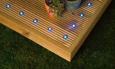 IP67 LED Wooden Floor Light Outdoor
