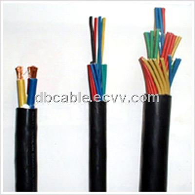 PVC/XLPE insulated PVC sheathed control cable