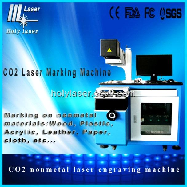 co2 nonmetal laser engraving machine for wood  HSCO2-60W