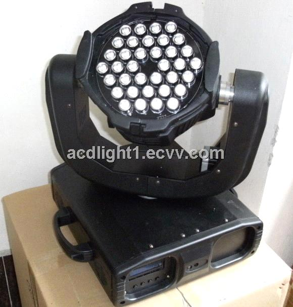 36pcs 1/3W full color led moving head light, stage movin ghead light