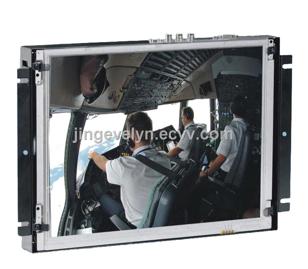 12.1inch open frame LCD display  metal frame monitor