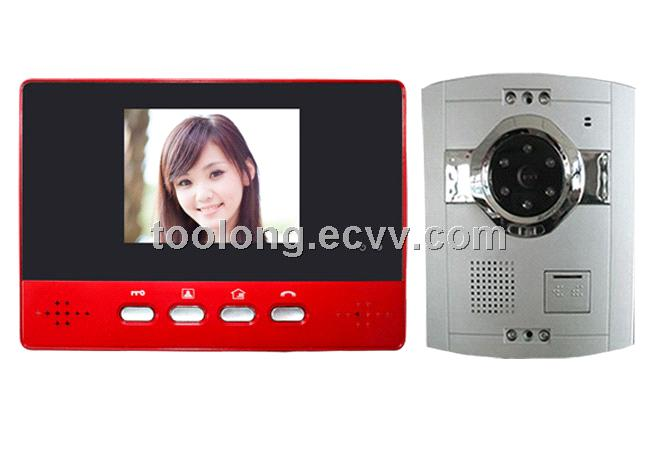 3.5inch LCD Video Intecoms 2013 Cheapest
