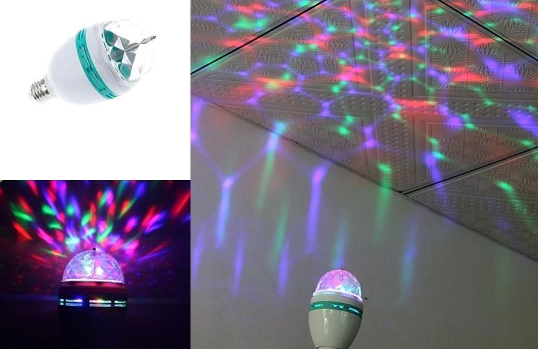 Ac v w e rgb led lighting colorful led bulb lamp spot