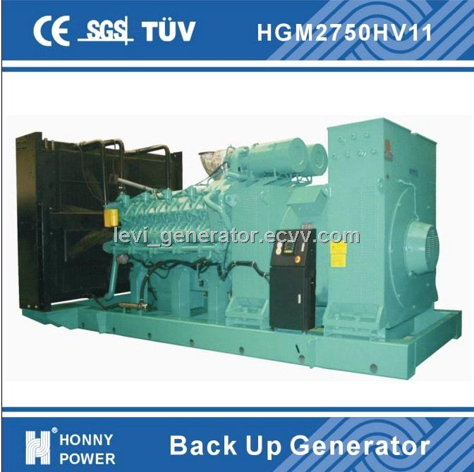 6300V High Voltage 1000rpm generators