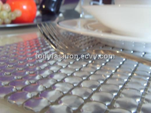 Elegant Aluminum Metal Mesh Table Runner ...