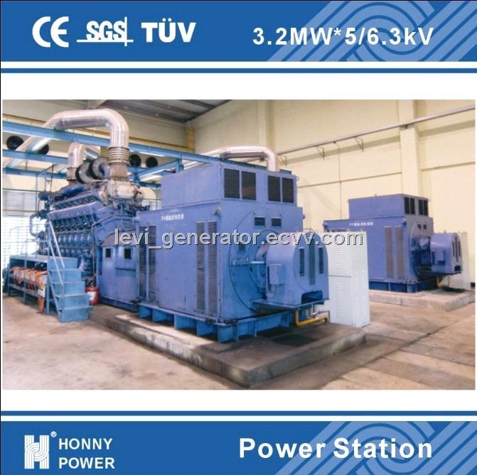 Diesel power station ( Honny 3MW generators)