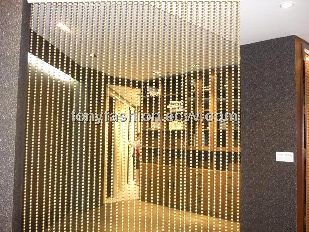 Gold Ball Chain Door Screen From China Manufacturer