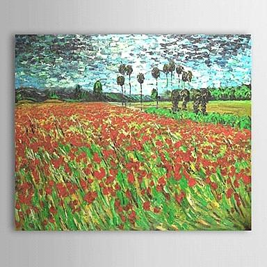 Hand-painted oil paintings history by Vincent Van Gogh with Stretched Frame
