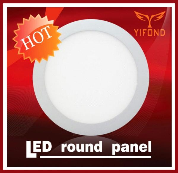 LED panel light Yifond  round panel flat light high energy-saving