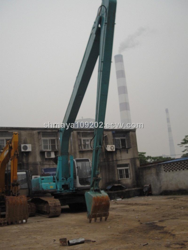 Long Arm Crawler Excavator Kobelco Sk350lc 20m Purchasing Sk210 Wiring Diagram