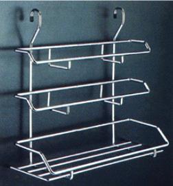Small Triple Rack L350 W155 H370mm Kitchen Racks Ht