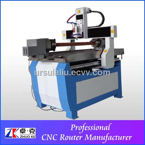 high quality 4 axis double chuck aluminum composite cnc router