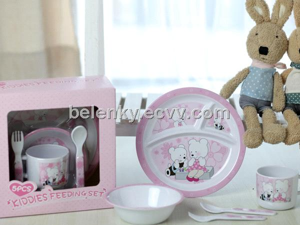 melamine kid set