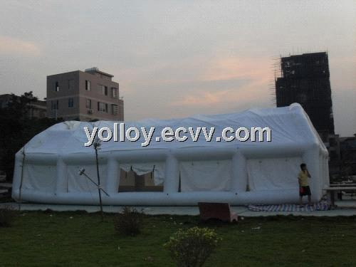 Large Air Tight Party Tube Tent Inflatable Recycled Removable Clear u0026 White Tent by PVC Tarps u0026 PVC ... & Large Air Tight Party Tube Tent Inflatable Recycled Removable ...