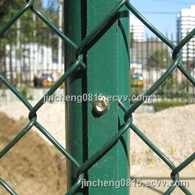 PVC Coated Chain Link Wire Fence