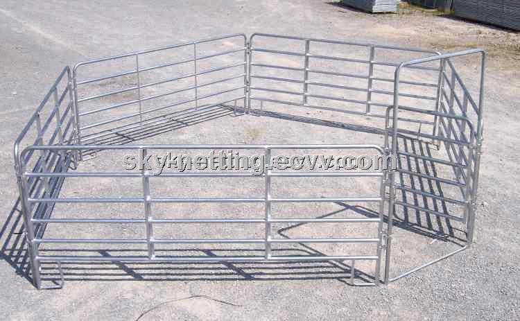 Portable Horse Round Pens Cattle /Sheep Corrals Cattel Yard Fence ...