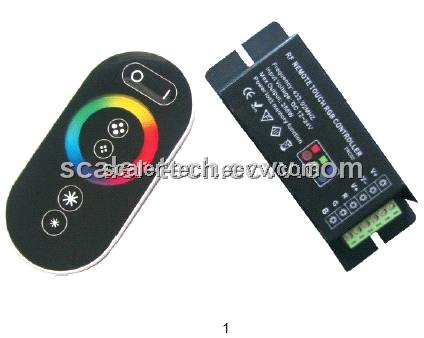 RF RGB LED Touch Controller
