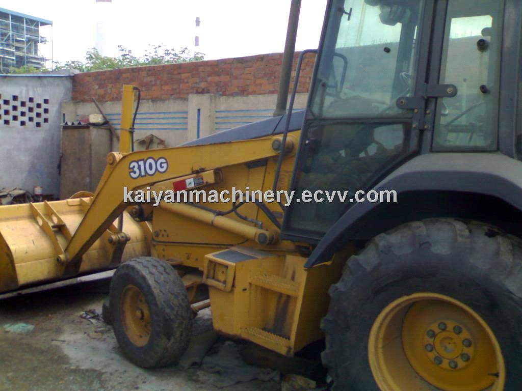 Used Backhoe Loader John Deere 310G Ready for Work