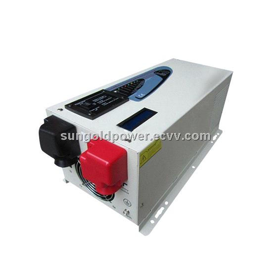 3000W Peak 9000W  Pure Sine Wave Inverter With Charger  LCD Screen