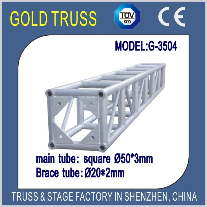 350x350mm Bolt Truss for Event Roof Truss with Portable Stage, Wedding  Stage Lighting Truss