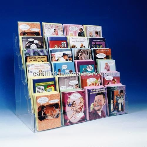 6 tier counter greeting card rack acrylic card display stand 6 tier counter greeting card rack acrylic card display stand m4hsunfo