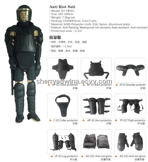 f8e541601f48 Anti-Riot Gear Swat Gear for Sale Police Riot Suit for Military and Riot  Police