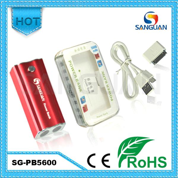 Charge Portable Power Bank 5600mAh