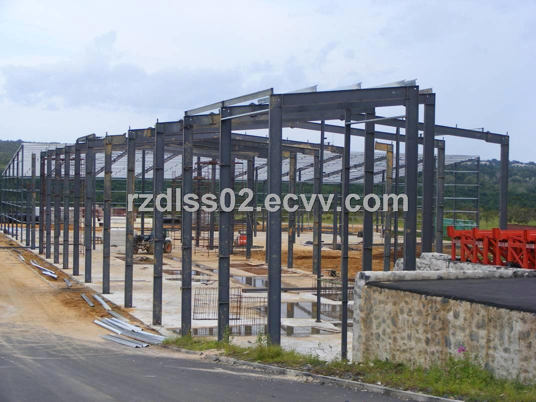 Steel Framed Factories : Construction steel structure frame factory