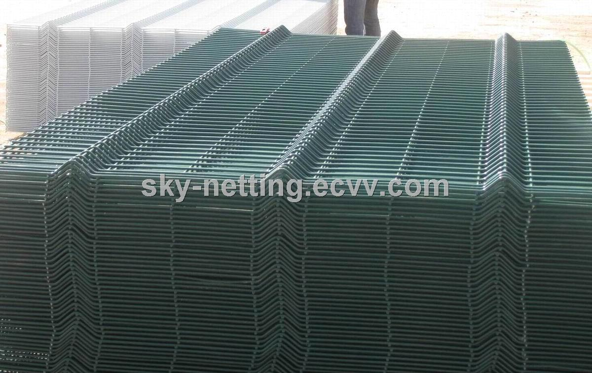 Curved Weld Mesh Heavy-Duty Security Fencing Panels/Belley Fence ...