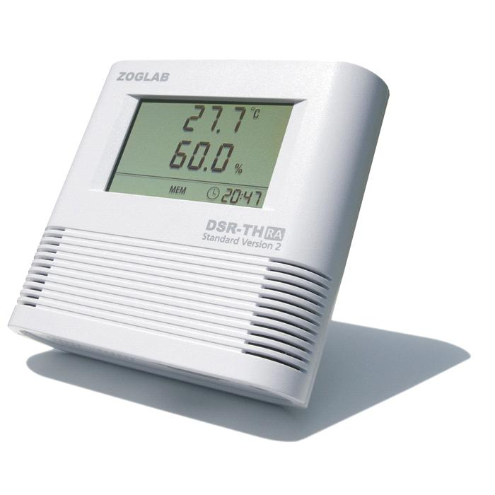 DSR-TH Built-in Temperature and Humidity Sensor Data Logger