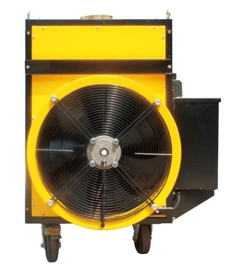 Floor Type Waste Oil Heater with Casters (SIN0787)