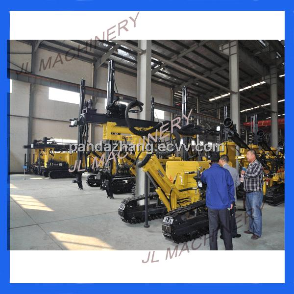 Hydraulic crawler rock drilling machine