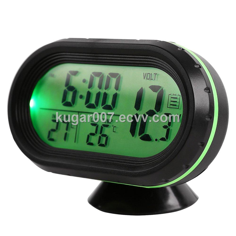LCD car clock VST-7009 from China Manufacturer, Manufactory