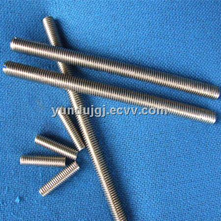 Manufacturer BSW/UNC Threaded Rod With Nuts And Washers Galvanized Finish