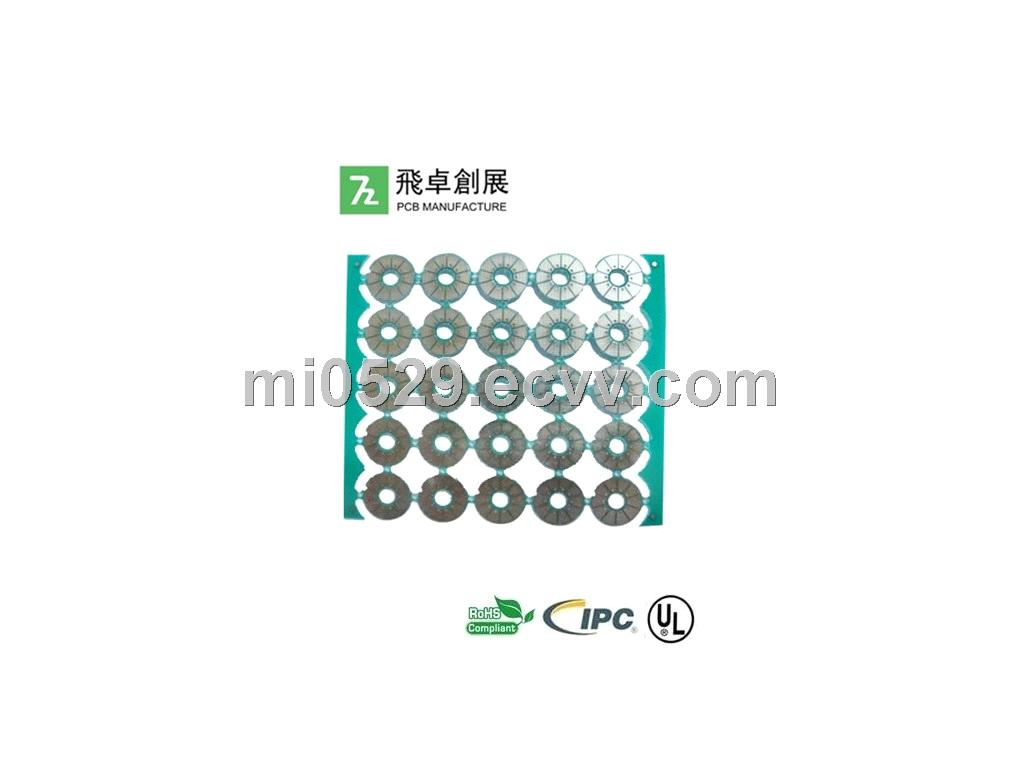 Single Side MC Metal Clad Aluminum Based PCB For LED